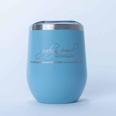 12 oz Tumbler Light Blue